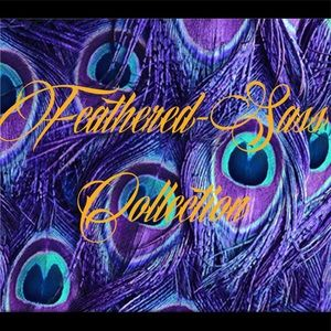 Feathered-Sass clutches & purses